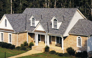 Roof with CertainTeed roofing shingles