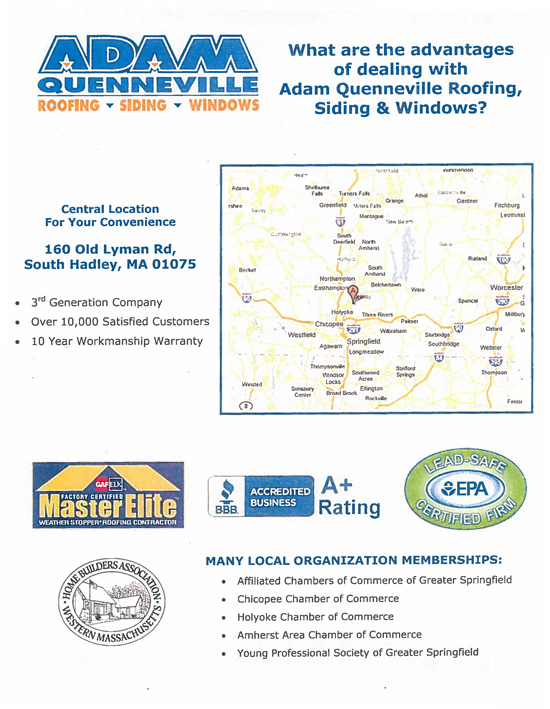 Adam Quenneville Roofing & Siding